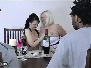 AgedLovE well-known chesty Matures hardcore Groupsex