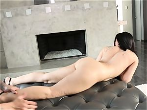 dark-haired Gabriella Paltrova nude buttfuck pulverizing