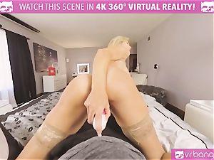 VRBangers.com-MILF is slamming a magic wand in her honeypot