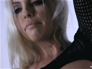 Britney Amber toys in her poon