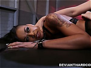 DeviantHardcore - flesh Diamond Fetish smash with Gabriella Paltrova